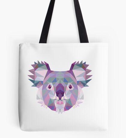 Polygonal Koala Tote Bag