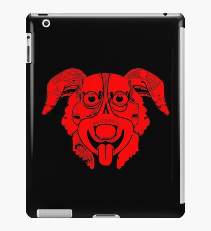 Mr Pickles Art Red iPad Case/Skin