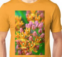Beautiful Butterfly Flower Unisex T-Shirt