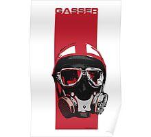 Gasser-Red Poster