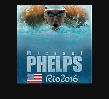 MICHEAL PHELPS TEAM USA RIO 2016 BRAZIL Unisex T-Shirt