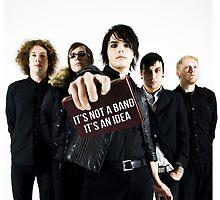 It's not a band, It's an idea. by xdangerline
