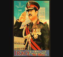 Saddam Propaganda  Unisex T-Shirt