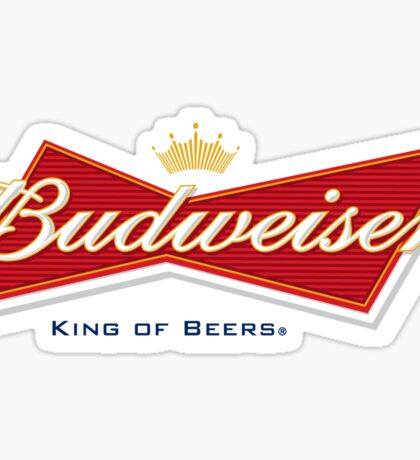Budweiser Sticker