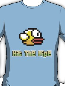 Hit The Pipe Flappy Bird T-Shirt
