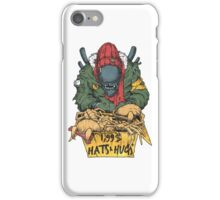 Hats and Hugs iPhone Case/Skin