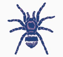 Tarantula! Blue and Purple Kids Tee