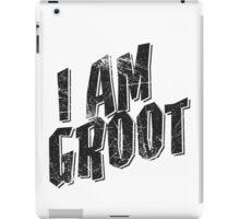 I am Groot Tee iPad Case/Skin