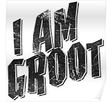 I am Groot Tee Poster