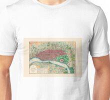 Map Of Calcutta 1832 Unisex T-Shirt