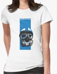 Gasser-Blue Womens Fitted T-Shirt