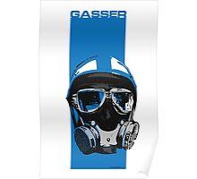 Gasser-Blue Poster