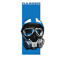 Gasser-Blue Photographic Print