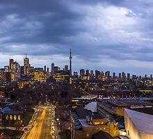 Toronto Skyline 7 by John Velocci