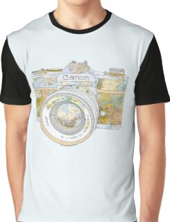 TRAVEL CAN0N Graphic T-Shirt