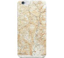 USGS TOPO Map Arizona AZ Turret Peak 315412 1929 125000 iPhone Case/Skin
