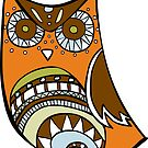 Deco Owl - 70's kitchen by Cassie M.