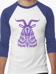 Space Goat Men's Baseball ¾ T-Shirt