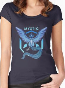 TEAM MYSTIC! Women's Fitted Scoop T-Shirt