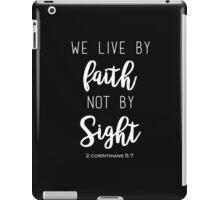 Faith Quote iPad Case/Skin