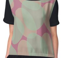 Copy and Paste V (color version) Chiffon Top