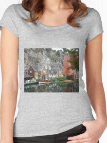 Penny Royal Powder Mill - Launceston Tasmania Women's Fitted Scoop T-Shirt