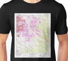 USGS TOPO Map Arizona AZ Tucson East 313823 1957 24000 Unisex T-Shirt