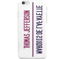 Jefferson Lafayette iPhone Case/Skin