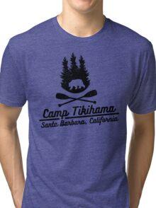 Camp Tikihama  Tri-blend T-Shirt
