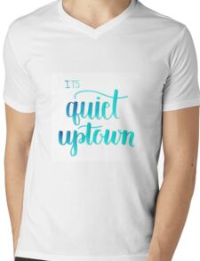 Quiet Uptown Mens V-Neck T-Shirt