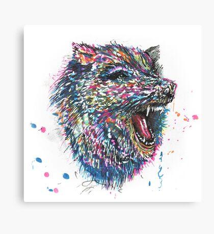 Radioactive Werewolf Canvas Print