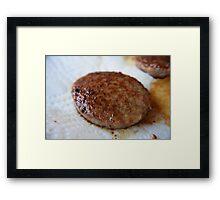Sausage Framed Print