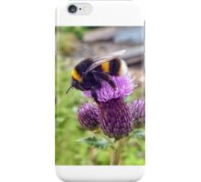 Fluffy busy bee iPhone Case/Skin