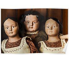 Antique Dolls Poster