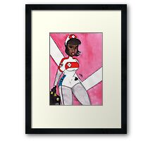 The Angel of Distric 12 Framed Print