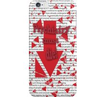 Psychiatry must die! iPhone Case/Skin