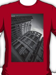 The Vancouver Public Library-Black and White Perspective #2 T-Shirt