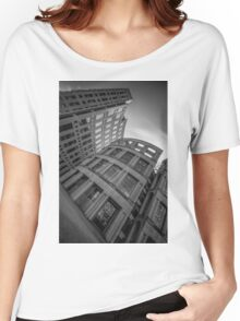 The Vancouver Public Library-Black and White Perspective #2 Women's Relaxed Fit T-Shirt