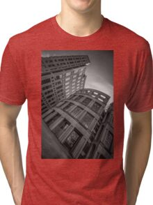 The Vancouver Public Library-Black and White Perspective #2 Tri-blend T-Shirt