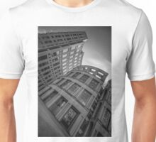 The Vancouver Public Library-Black and White Perspective #2 Unisex T-Shirt