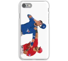 Rougned Odor vs Jose Bautista Fight (Samsung) iPhone Case/Skin