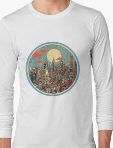 philadelphia panorama 3 Long Sleeve T-Shirt