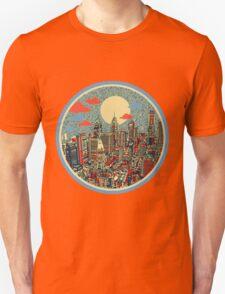 philadelphia panorama 3 Unisex T-Shirt