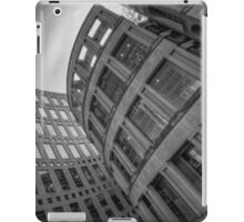 The Vancouver Public Library- Black and White  iPad Case/Skin