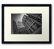 The Vancouver Public Library- Black and White  Framed Print