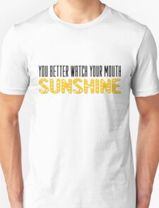 The Walking Dead Quotes TV Series Sunshine Unisex T-Shirt