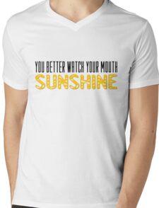 The Walking Dead Quotes TV Series Sunshine Mens V-Neck T-Shirt