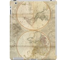 Vintage Map of The World (1799) 2 iPad Case/Skin