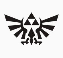 Triforce (Black) by angieguzman