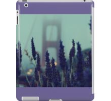 """Purple Haze Daze"" Golden Gate Bridge iPad Case/Skin"